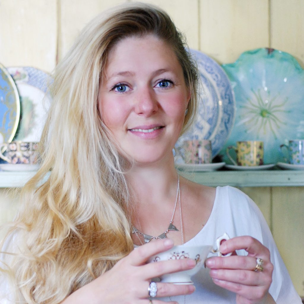 Theodora Gould, jewellery designer & maker, talking mothering and freelancing