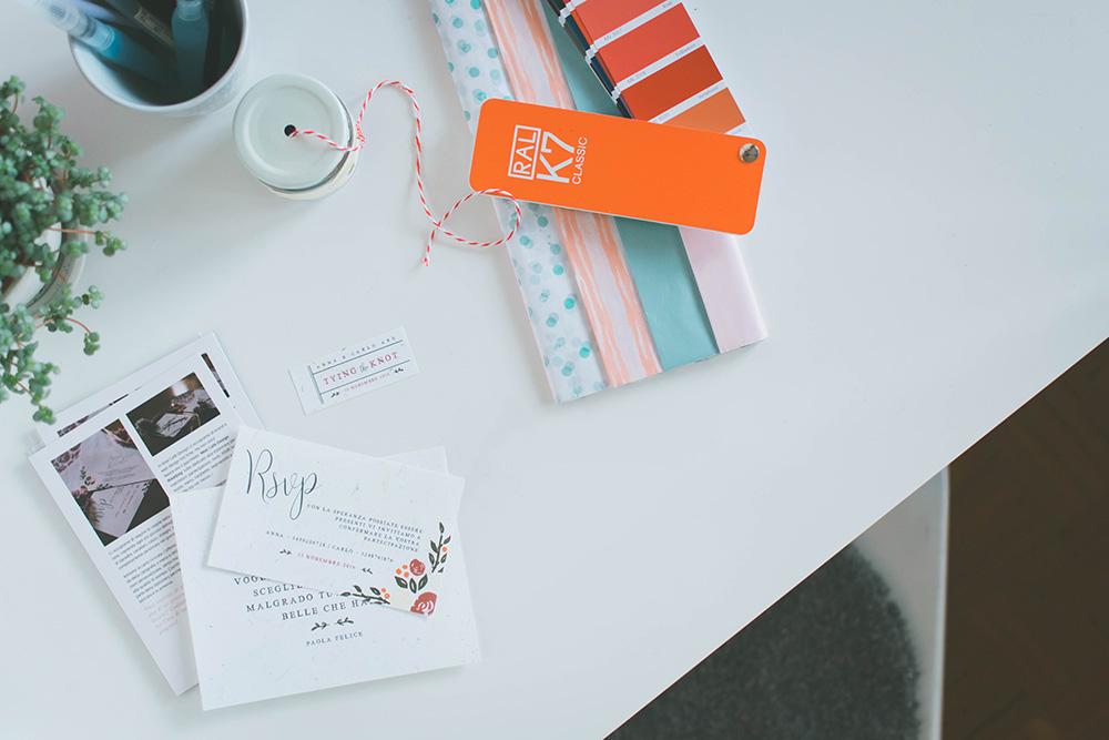 Contattami per Stationery e Stampe Eventi, Partecipazioni Matrimonio - Miel Café Design