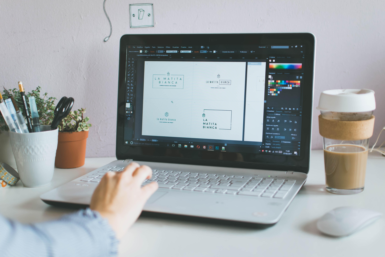 Servizio di Brand Identity Design per Creare un Logo Personalizzato - Miel Café Design
