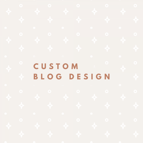 Custom Blog Design Grafica Per Blog