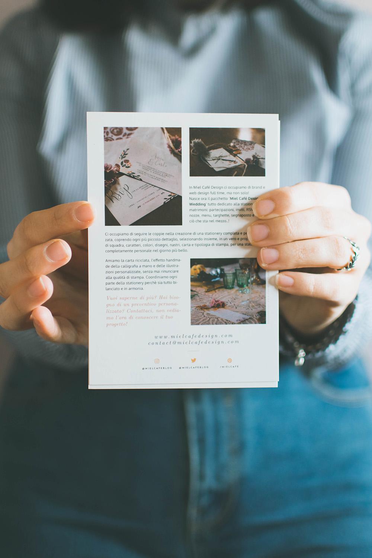 Pacchetto Stationery Per Brand Biglietti Da Visita Personalizzati - Miel Café Design