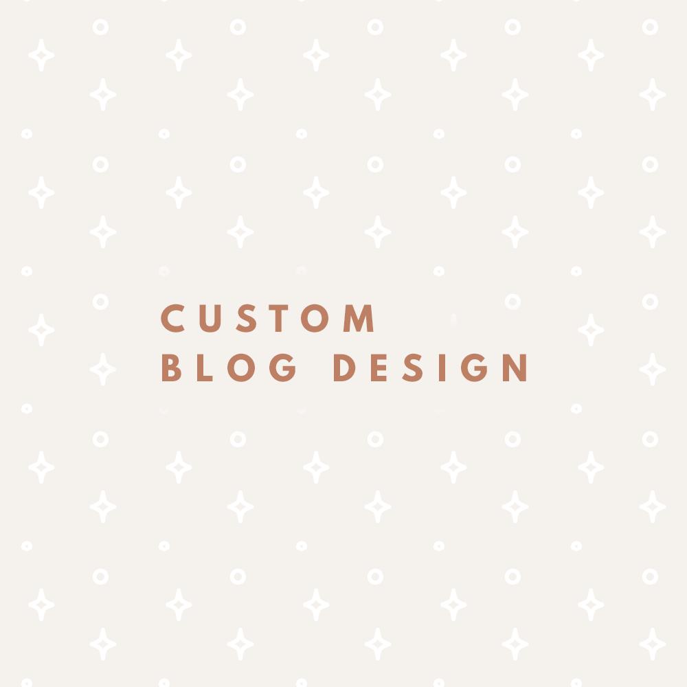 Custom Blog Graphic Design Service