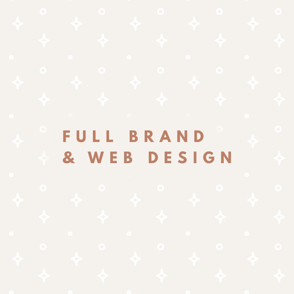 Full Web and Brand Identity Design Service