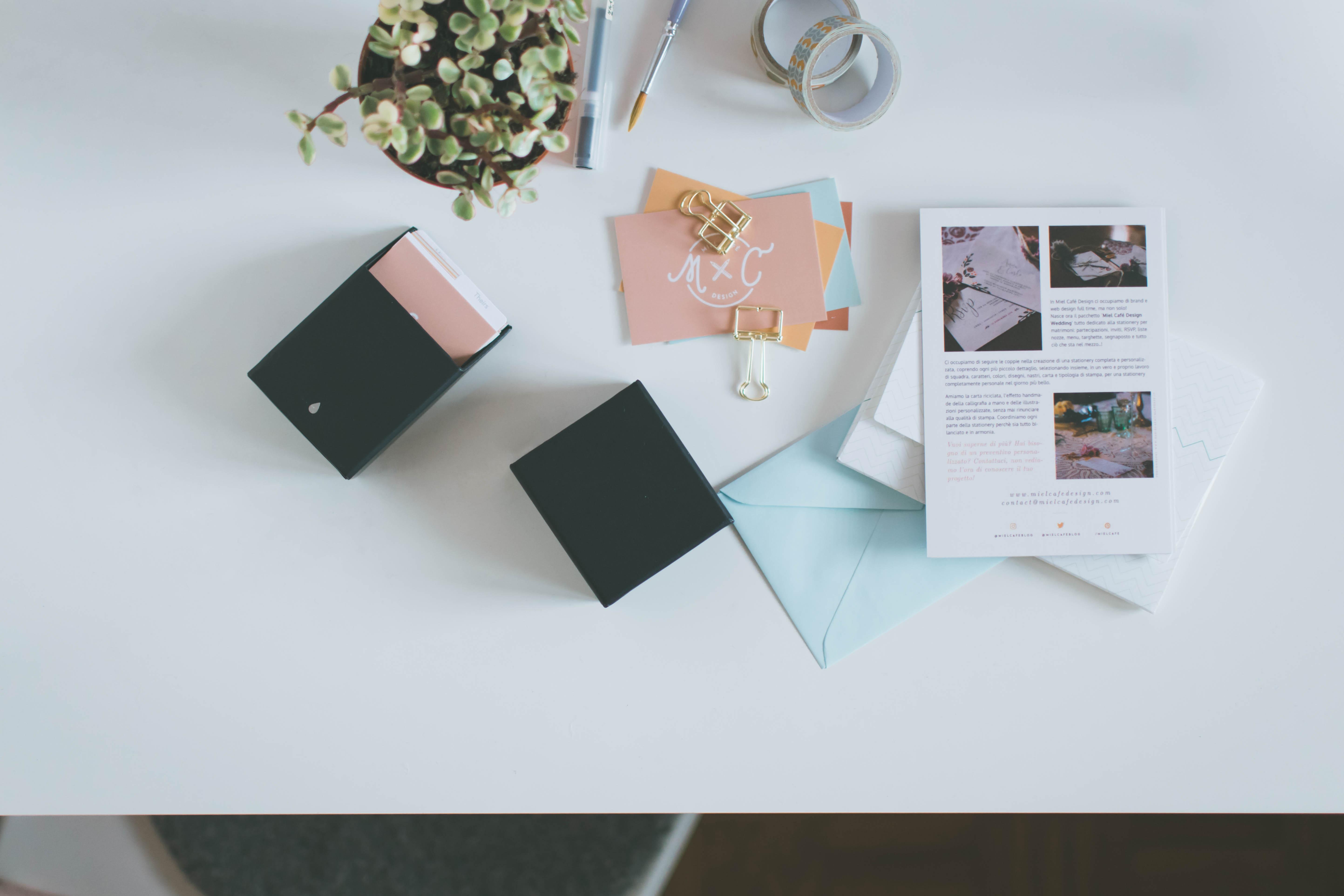 Service Full Brand Identity Design - Miel Café Design