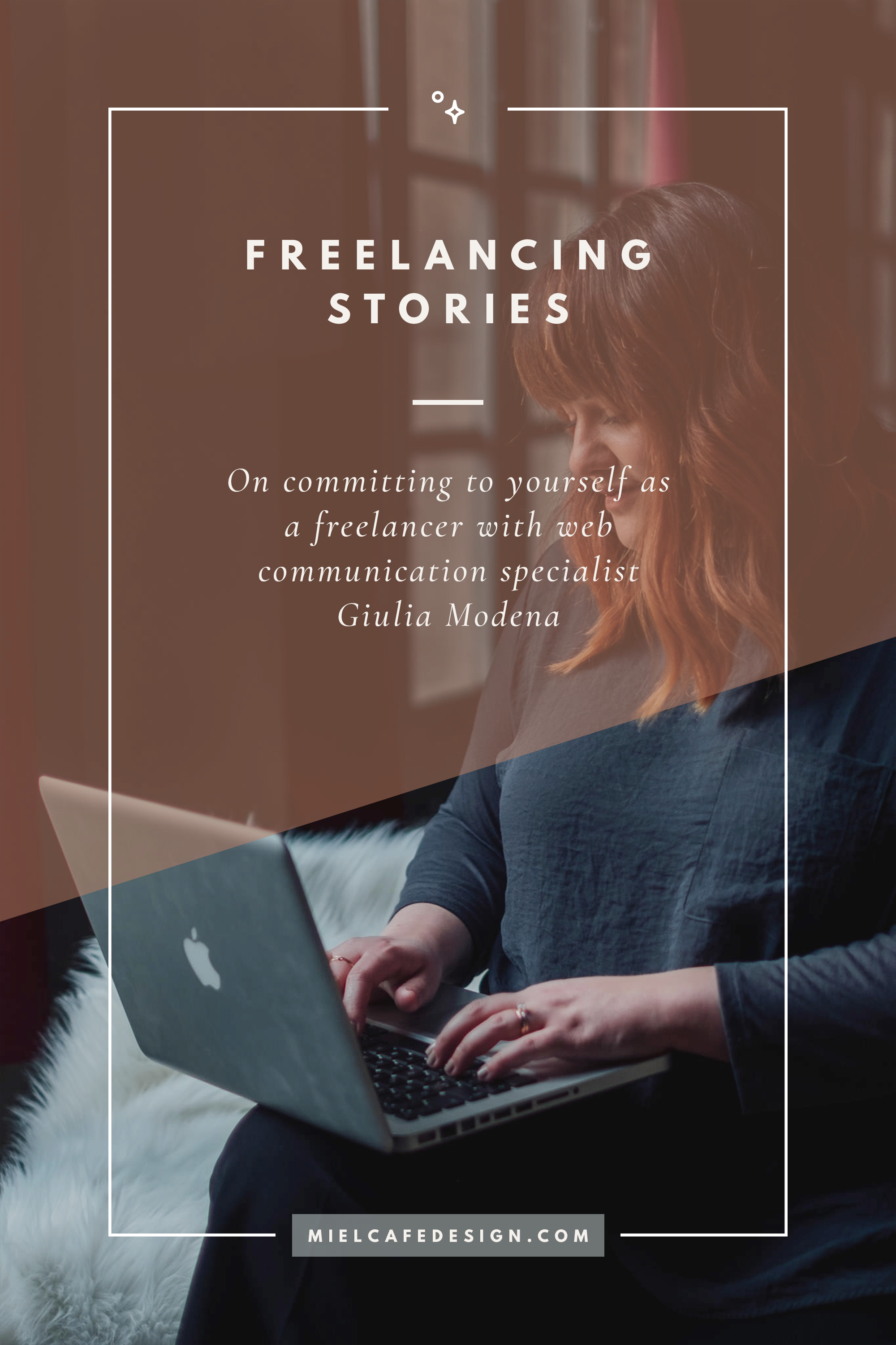 Find your path as a freelancer with web communication expert Giulia Modena