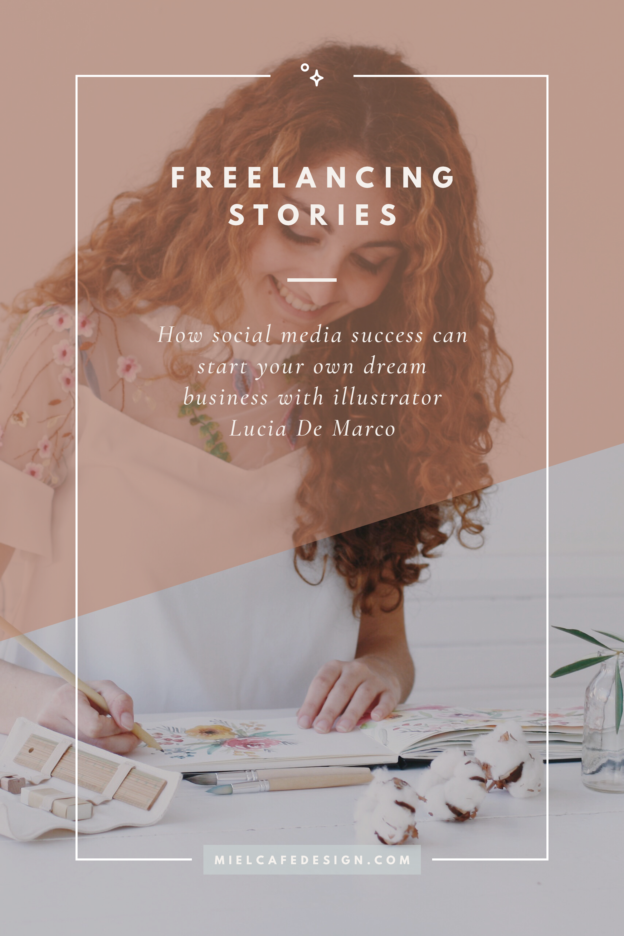 Freelancing Stories: 'How Instagram Started My Business' with illustrator Lucia De Marco