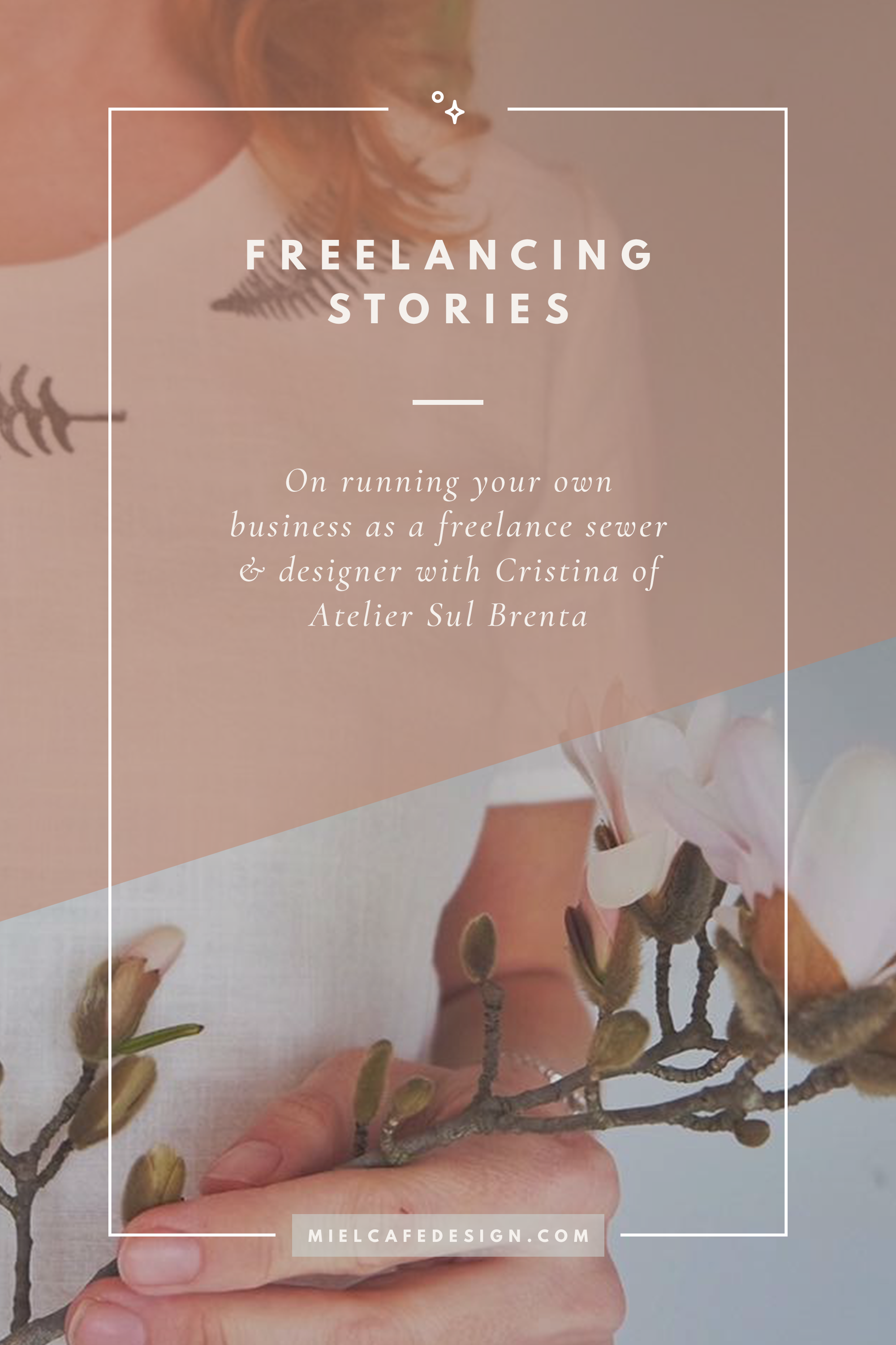 Freelancing Stories: On Running a Business as a Freelance Sewer & Designer with Cristina of Atelier Sul Brenta