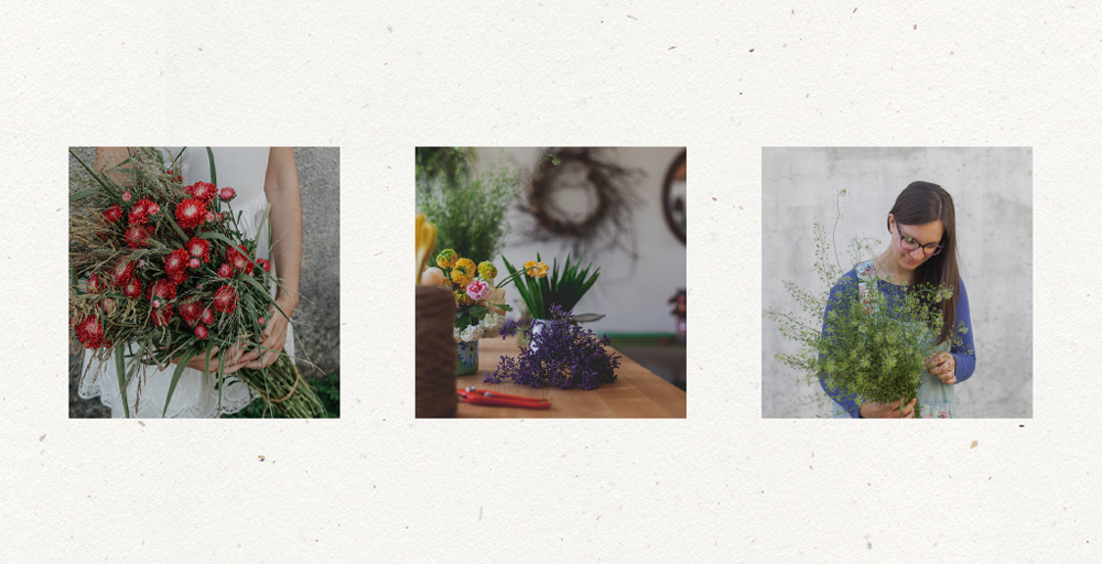 Rebranding For Floral Designer Daisy Studio Coordinated Branded Photography