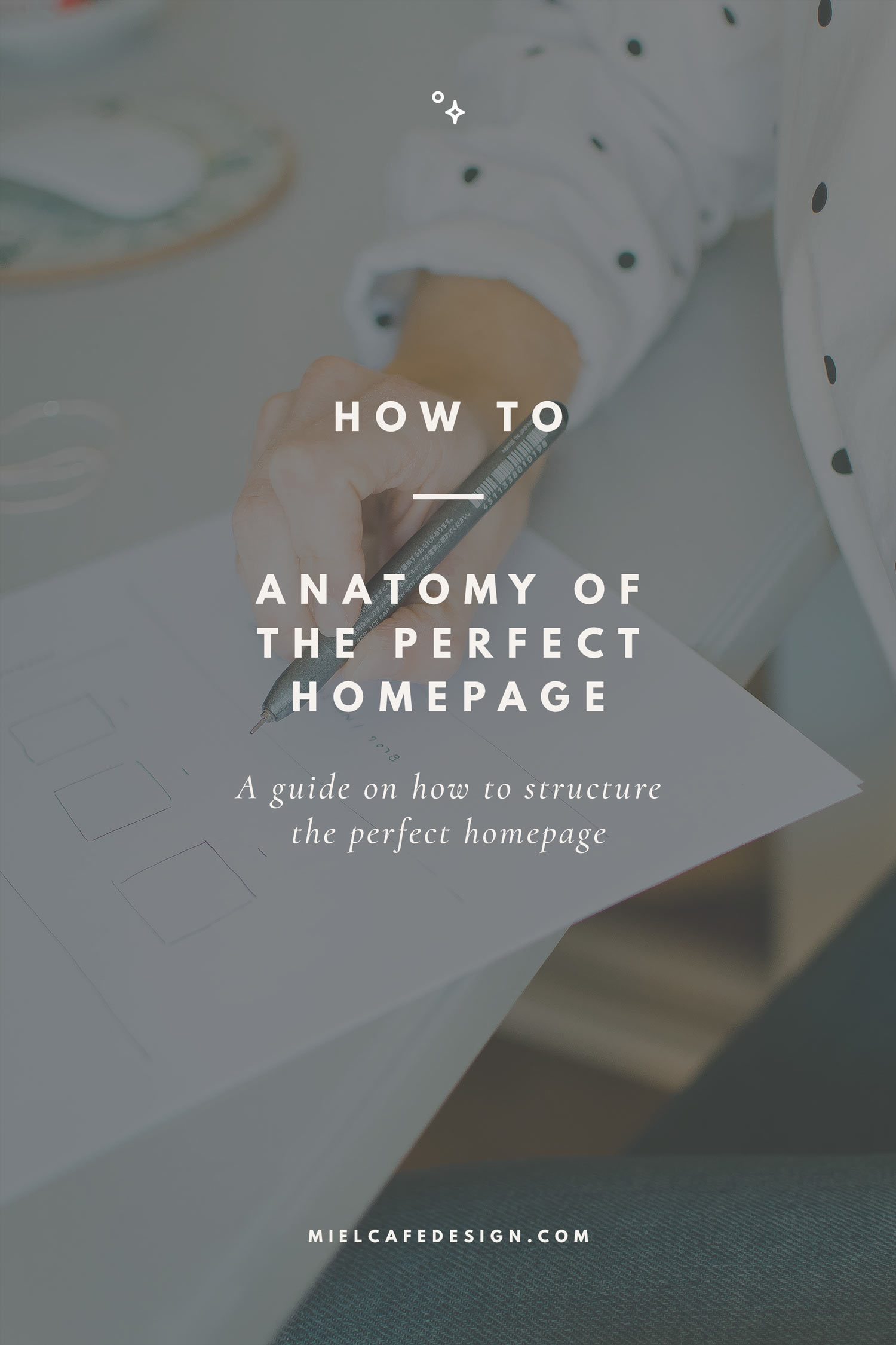 How to: Anatomy Of The Perfect Homepage, How To Structure Your Homepage - Miel Café Design