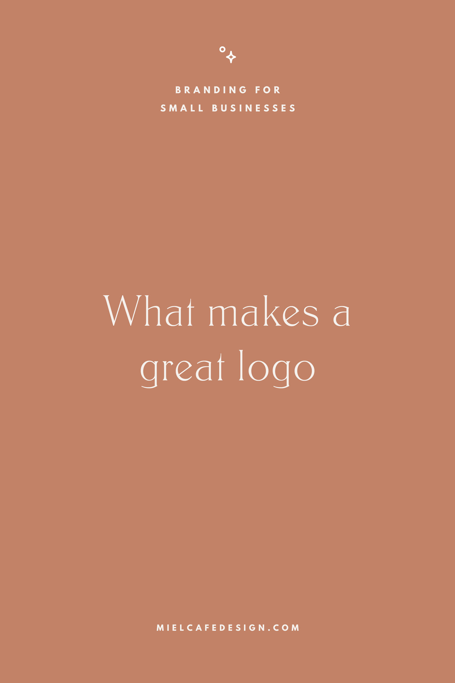 Branding for small businesses: what makes a great logo that functions as magnet for your ideal clients